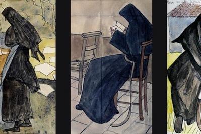 Exposition Des Oeuvres De Mère Geneviève Gallois à Jouques