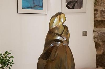 Sculptures et tableaux de Camy à Gordes