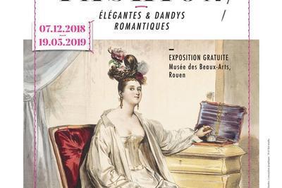 Exposition : élégantes Et Dandys Romantiques - Le Temps Des Collections Vii à Rouen