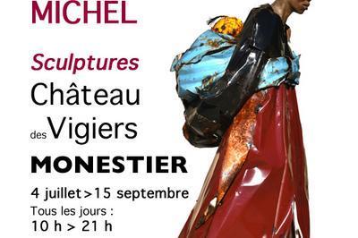 Exposition Emmanuel MICHEL « Sculptures » au Château des Vigiers à Monestier