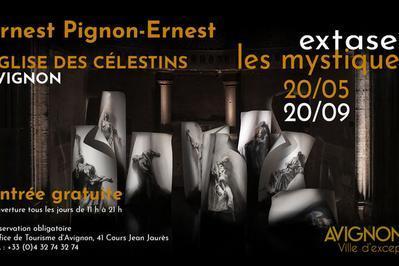 Exposition Extases Ernest Pignon-ernest à Avignon
