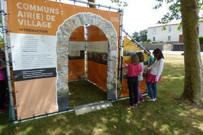 Exposition Extérieure En Autonomie Communs, Air(e) De Village à Vertou