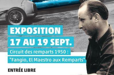 Exposition Fangio, El Maestro Aux Remparts à Angouleme
