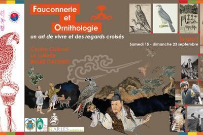 Exposition : Fauconnerie Et Ornithologie, Un Art De Vivre Et Des Regards Croisés à Cadenet