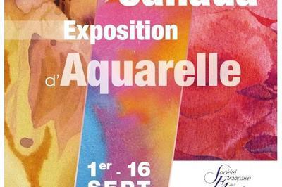 Exposition France-canada: Exposition D'aquarelles Du 1 Au 16 Septembre à Avignon