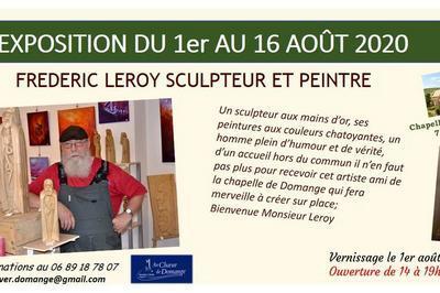 Exposition Frédéric Leroy à Domange à Ige