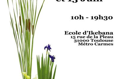 Exposition Ikebana à Toulouse