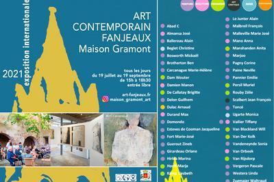 Exposition internationale d'Art contemporain, 44 artistes à Fanjeaux