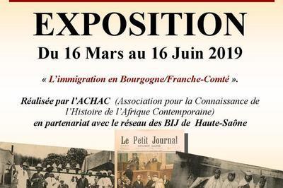 Exposition L'immigration En Bourgogne-franche-comté, Présence Des Suds à Champagney