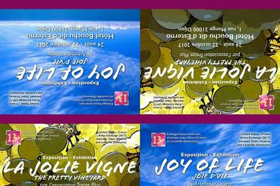 La jolie vigne et Joie d'vie à Dijon