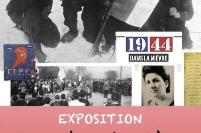 Exposition La Nièvre En 1944 à Dun les Places