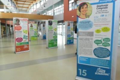 Exposition « Les Filles, Osez Les Sciences » à Rouen