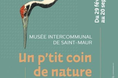 Exposition Un P'tit Coin De Nature à La Varenne saint Hilaire