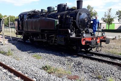 Exposition Locomotive à Vapeur à Carhaix Plouguer
