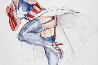 Exposition Margaret Harrison, Danser Sur Les Missiles à Metz