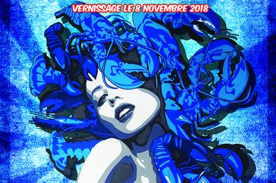 Exposition « Muses et Méduses » by B.AX Béatrix Vincent à Montpellier