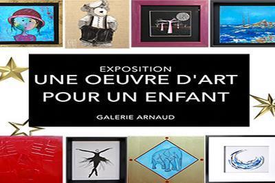Exposition : Noel une oeuvre d'art pour un enfant à La Rochelle