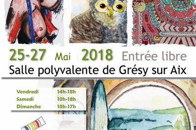 Exposition Peinture à Gresy sur Aix