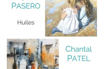 Exposition peinture J. Pasero - C. Patel à Villers sur Mer