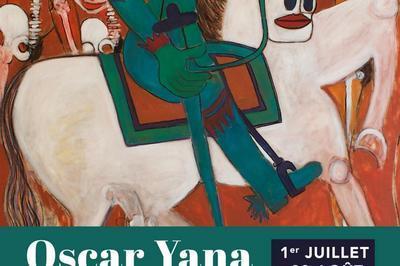 Exposition peinture - Oscar Yana à Pleyber Christ
