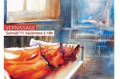 Exposition peinture par Bruno Caillé à Villers sur Mer