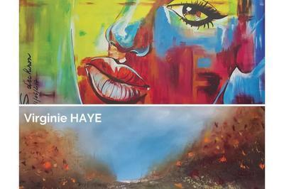 Exposition peinture par Virginie Haye et Sylvie Dechiron à Villers sur Mer