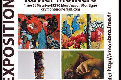 Exposition peinture Xavier MONTERO à Montfaucon