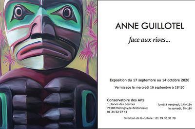 Exposition personnelle, Face aux Rives... à Montigny le Bretonneux