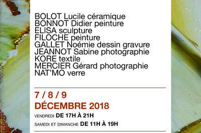 Exposition petits formats et objets d'artistes à Versailles