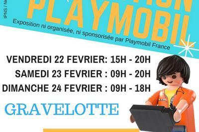 Exposition Playmobil - 22 au 24 février 2019 - Gravelotte