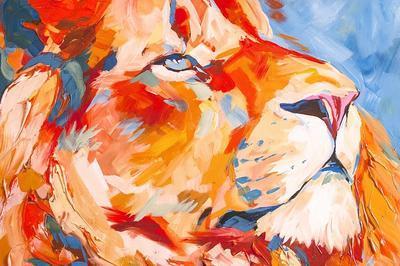 Exposition Regard Animal Peinture Animalière  Par Lise Vurpillot à Besancon