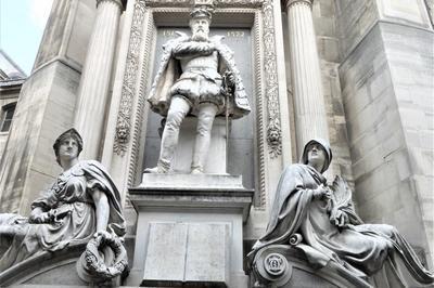 Exposition Sur Le Monument à La Mémoire De L'amiral Gaspard De Coligny (1519-1572) à Paris 1er