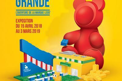 Exposition Temporaire Petite Brique Devenue Grande, L'aventure De La Marque Lego à Moirans en Montagne
