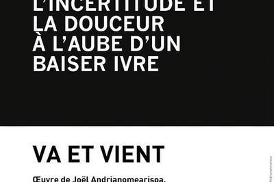 Exposition Va Et Vient, Oeuvre De Joël Andrianomearisoa à Toulouse