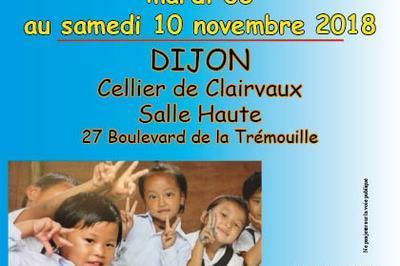 Exposition-vente d'artisanat Himalayen au Cellier de Clairvaux, salle Haute à Dijon