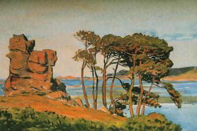 Exposition Vues Sur Mer. Jean Francis Auburtin - Mathurin Méheut à Lamballe