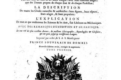 Exposition Zoom Sur Le Dictionnaire De Trévoux En 4 Panneaux à La Médiathèque . à Trevoux