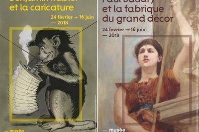 Expositions Paul Baudry Et La Fabrique Du Grand Décor Et Benjamin Rabier Et La Caricature à La Roche sur Yon