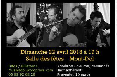 Fabien Chandevau Quartet Jazz manouche à Dol de Bretagne