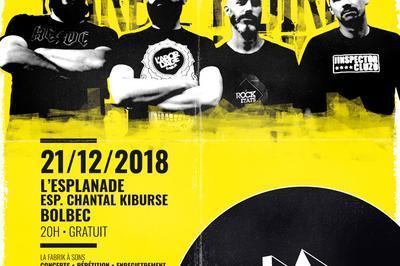 Fabrik à Sons / Barbe Noire en concert à Bolbec