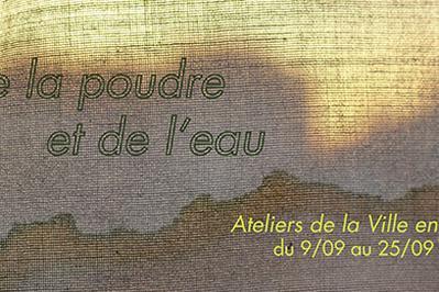 De la poudre et de l'eau - Exposition collective à Nantes