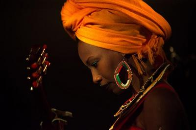 Fatoumata Diawara à Villejuif