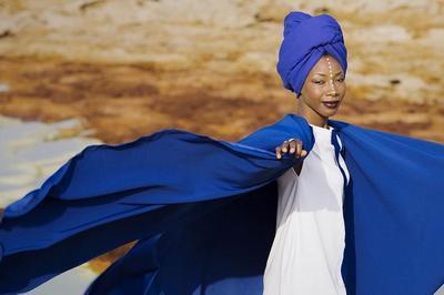 Fatoumata Diawara à Clichy Sous Bois