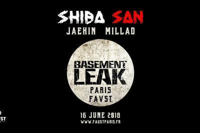 Faust X Basement Leak : Shiba San, Jaekin, Millad à Paris 8ème