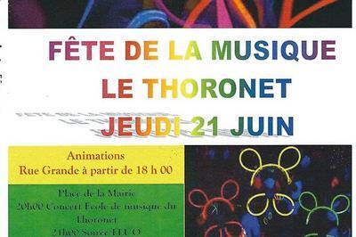 Ecole de musique du Thoronet (Fête de la Musique 2018) à Le Thoronet