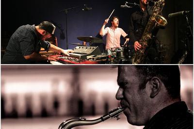 La Fanfare du festival et The Art Eixample of Canigo - Festival Jazzèbre à Le Perthus