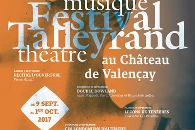 Fest. Tall. - Magiciennes Baroques à Valencay