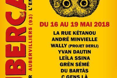 André Minvielle / La Rue Kétanou / Pat Kalla à Aubervilliers du 16
