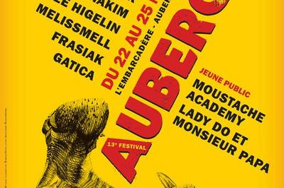 Festival Aubercail 2019 - Pass 2 J Mercredi/Vendredi à Aubervilliers