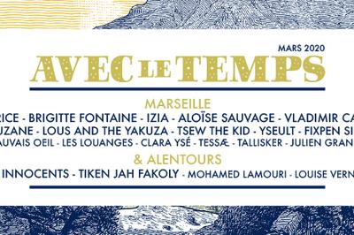 Festival Avec Le Temps 2020 - Izia   Juniore   Artistes A Venir à Marseille